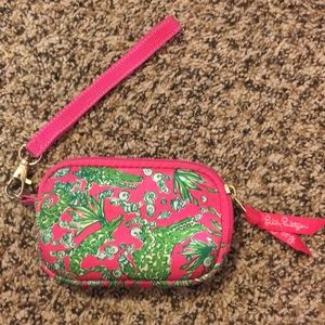 Lilly Pulitzer Coin Purse Wristlet